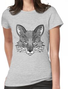 Fox (texture) Womens Fitted T-Shirt