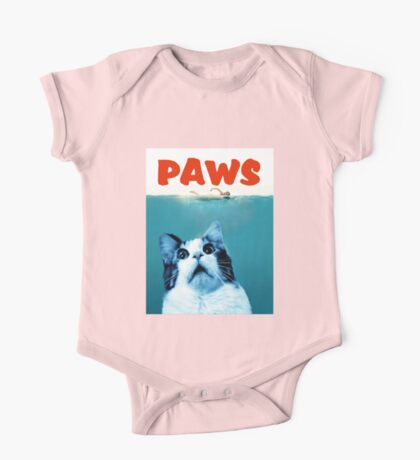 PAWS One Piece - Short Sleeve