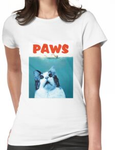 Paws Jaws Parody Funny Unisex T-shirt