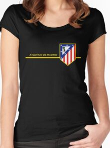 Atletico de Madrid Women's Fitted Scoop T-Shirt