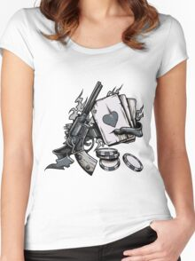Risky Game Women's Fitted Scoop T-Shirt