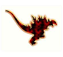 Godzilla 2000 Art Print