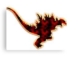 Godzilla 2000 Canvas Print