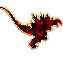 Godzilla 2000 Photographic Print