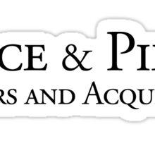 Pierce & Pierce - Mergers and Acquisitions Sticker