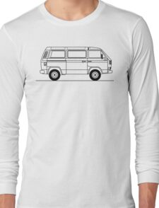 Type 25 or T3 Westfalia Syncro Long Sleeve T-Shirt