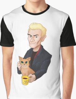 Spike and a kitten Graphic T-Shirt
