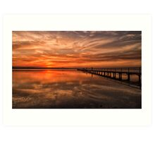 Another Awesome Sunset Art Print