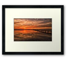 Another Awesome Sunset Framed Print