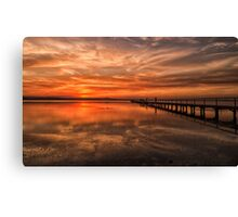 Another Awesome Sunset Canvas Print