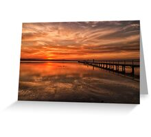 Another Awesome Sunset Greeting Card