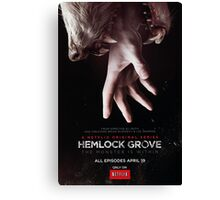 Hemlock grove affiche saison 1 Canvas Print