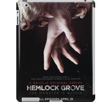Hemlock grove affiche saison 1 iPad Case/Skin
