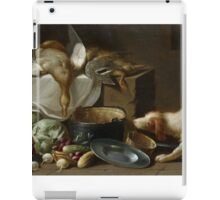 WEENIX, JAN (ATTRIBUTED) () A kitchen still life with a duck, vegetables, kitchen utensils and a dog iPad Case/Skin