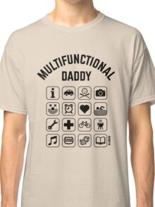 Multifunctional Daddy (16 Icons) Classic T-Shirt