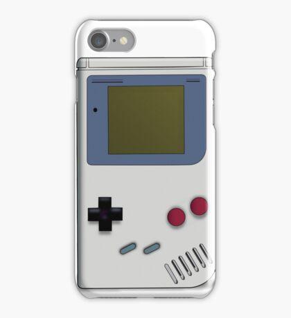Classic GameBoy Grey iPhone Case/Skin