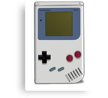 Classic GameBoy Grey Canvas Print