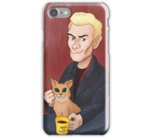 Spike and a kitten iPhone Case/Skin