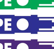 Vape The Rainbow Sticker