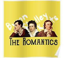 The Romantics in yellow Poster