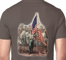 CIVIL WAR, AMERICAN, SOLDIER, UNION, ARMY, STAR SPANGLED, BANNER, USA Unisex T-Shirt