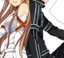 Sword Art Online (SAO) - Asuna Yuuki & Kirito (Kirigaya Kazuto) Sticker