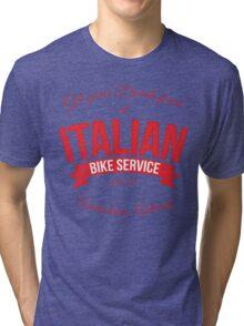 Italian Bike Service Tri-blend T-Shirt