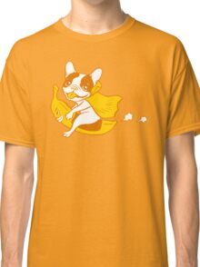 Fun ride with Frenchie Banana Rider Classic T-Shirt