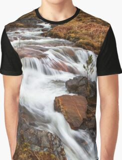 Scottish Falls. Graphic T-Shirt