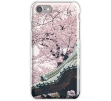 Cherry Blossom Temple iPhone Case/Skin