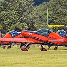 The Blades Taxy Out by Colin Smedley