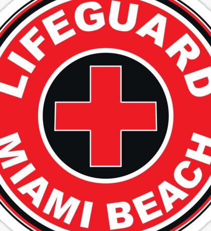 LIFEGUARD SURF PATROL MIAMI BEACH FLORIDA Surf Surfer Surfboard Waves Ocean Beach Vacation Sticker