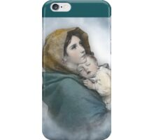 The Madonna, Nativity mother and child. iPhone Case/Skin