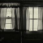 window in winter by lastgasp