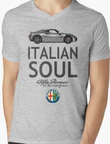 Italian Soul Mens V-Neck T-Shirt