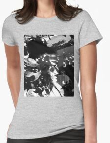 Shadows.  Womens Fitted T-Shirt