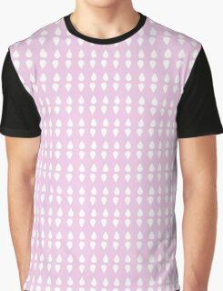 Pink Drop Graphic T-Shirt