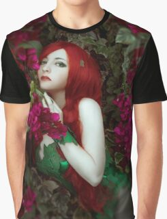 Poison Ivy cosplay Graphic T-Shirt