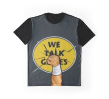 We Talk Games Punch Logo Graphic T-Shirt