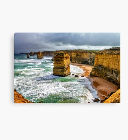 The Twelve Apostles North Canvas Print