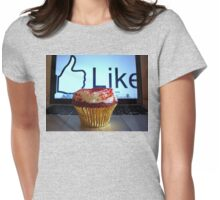 Caked Mof. Like Womens Fitted T-Shirt
