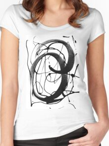Brush It Out Women's Fitted Scoop T-Shirt