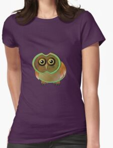 sill owl Womens Fitted T-Shirt