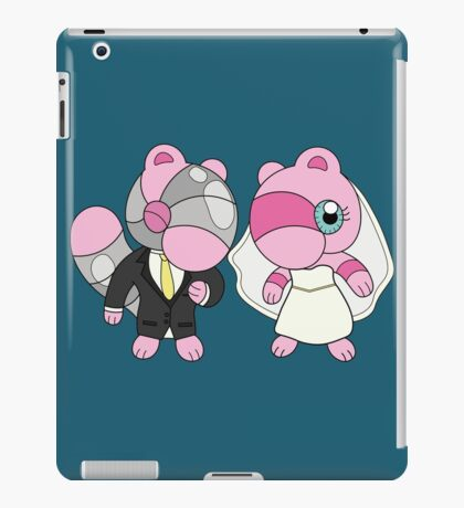 Bride & Groom Mushi iPad Case/Skin