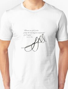 Sarah J Maas Signed Quotable Unisex T-Shirt