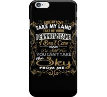 BALLAD OF SERENITY iPhone Case/Skin