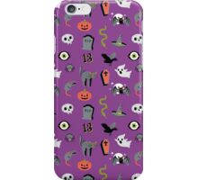 Halloween Purple Pattern iPhone Case/Skin