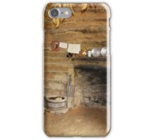 Living Room with Fireplace iPhone Case/Skin