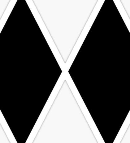 DOUBLE BLACK DIAMOND SKIING SKI EXPERT ONLY Sticker