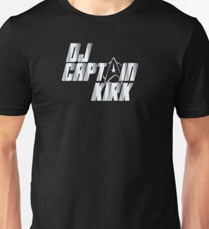 DJ Captain Kirk Unisex T-Shirt